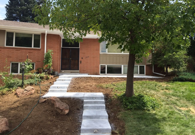 Concrete Construction Contractor in Sedalia, CO