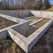 Concrete Footings and Foundation Contractor