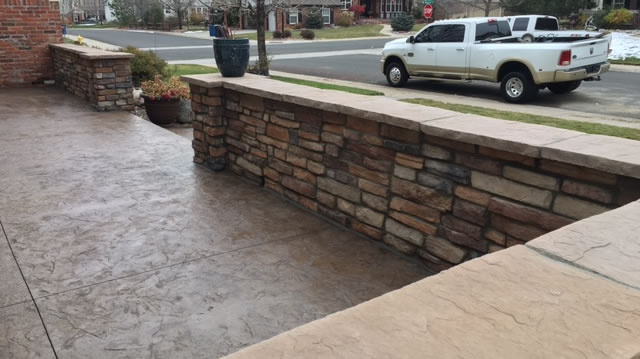 Hardscape Construction Aurora Colorado.