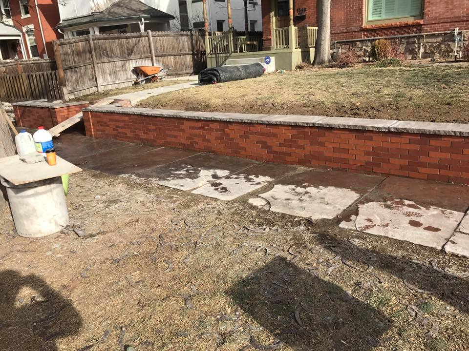 Brick Wall Construction : Brick retaining wall construction pixshark
