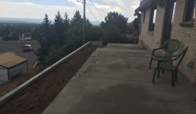 Douglas County Colorado Concrete Contractor