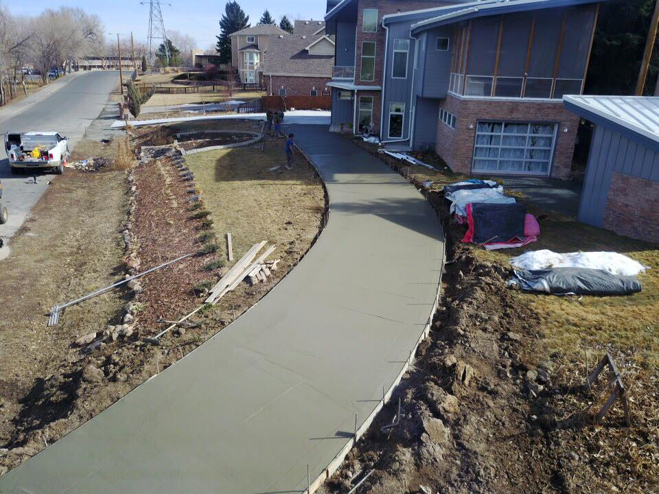 Concrete Driveway Installation Quality Contracting