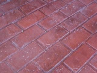 stamped concrete designs Running Bond Brick