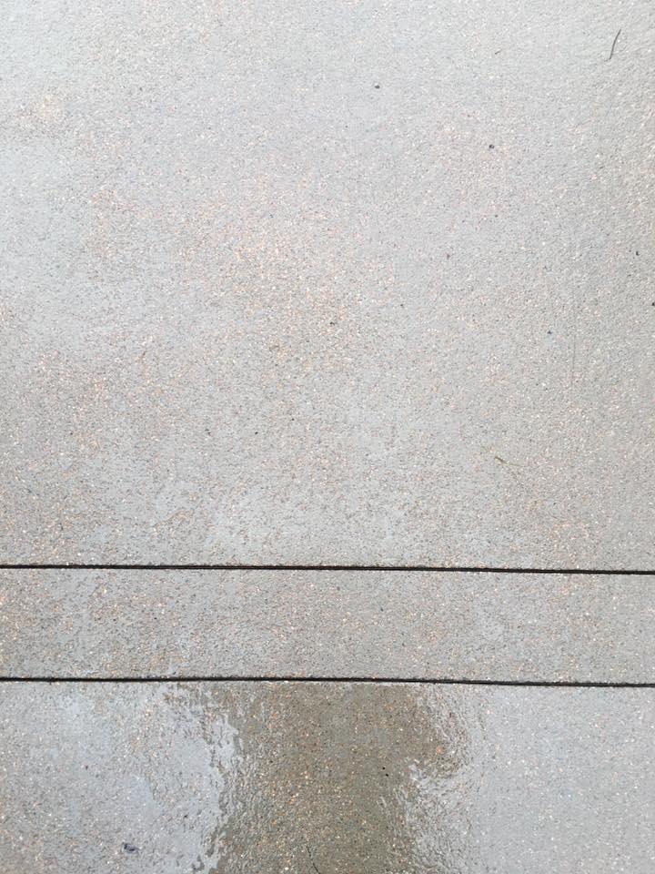 Sandstone Finish Concrete - Quality Contracting Concrete and