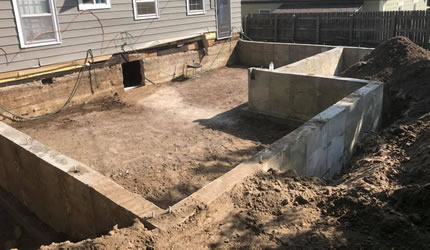 Concrete Foundation Construction Aurora and Denver CO.