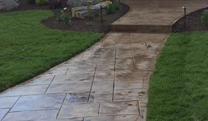 Concrete Walkways and Pathways Denver and Aurora CO