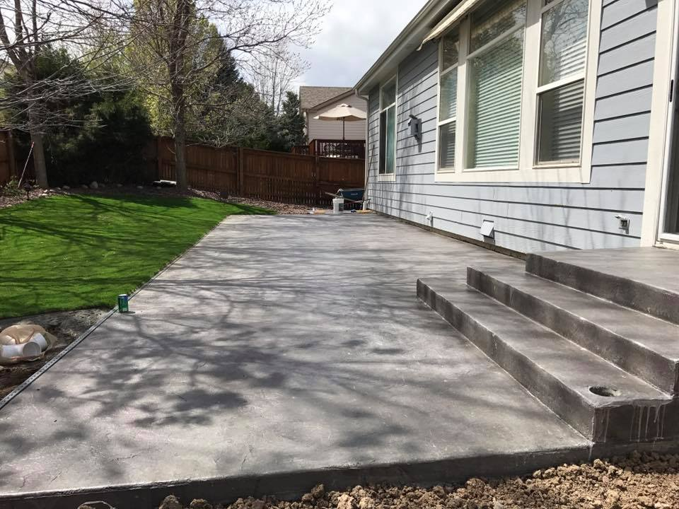 Concrete Patio Projects Weu0027ve Completed
